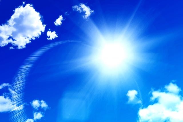 太陽光などの自然環境