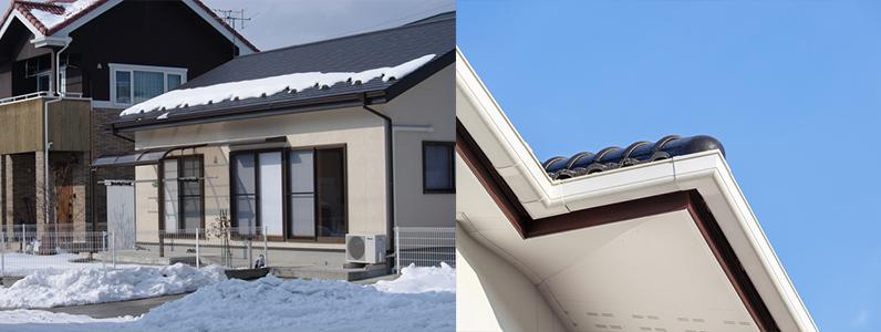 屋根劣化の外的要因