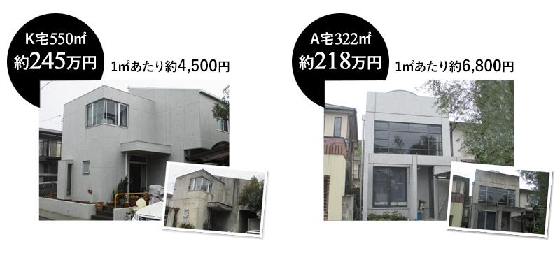 コンクリート再生塗装は長野市で評判の施工方法です